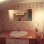 Salle de bains en sous pente