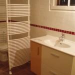 Salle de bains en espace restreint