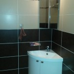 Meuble d'angle salle de bains Port-Fréjus